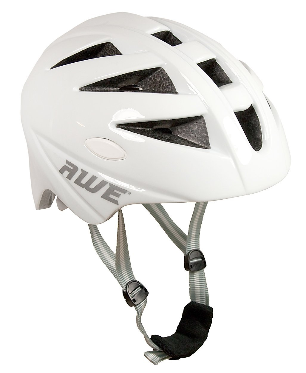 White AWE Bicycle Helmets