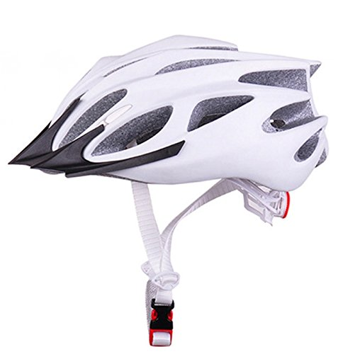 White Coface Bicycle Helmets