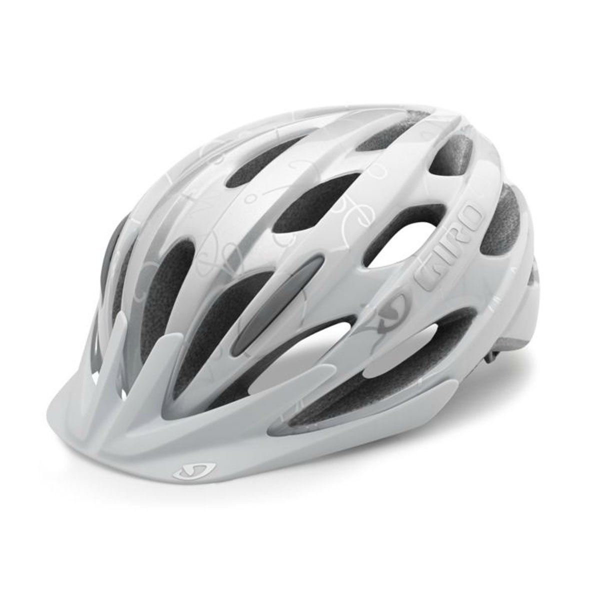 White Giro Bicycle Helmets