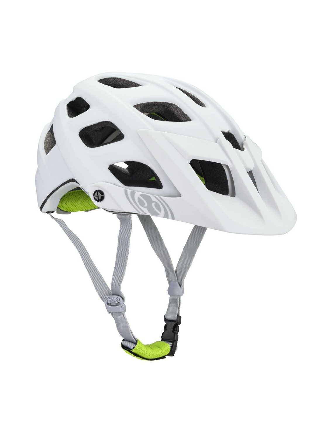 White IXS Bicycle Helmets