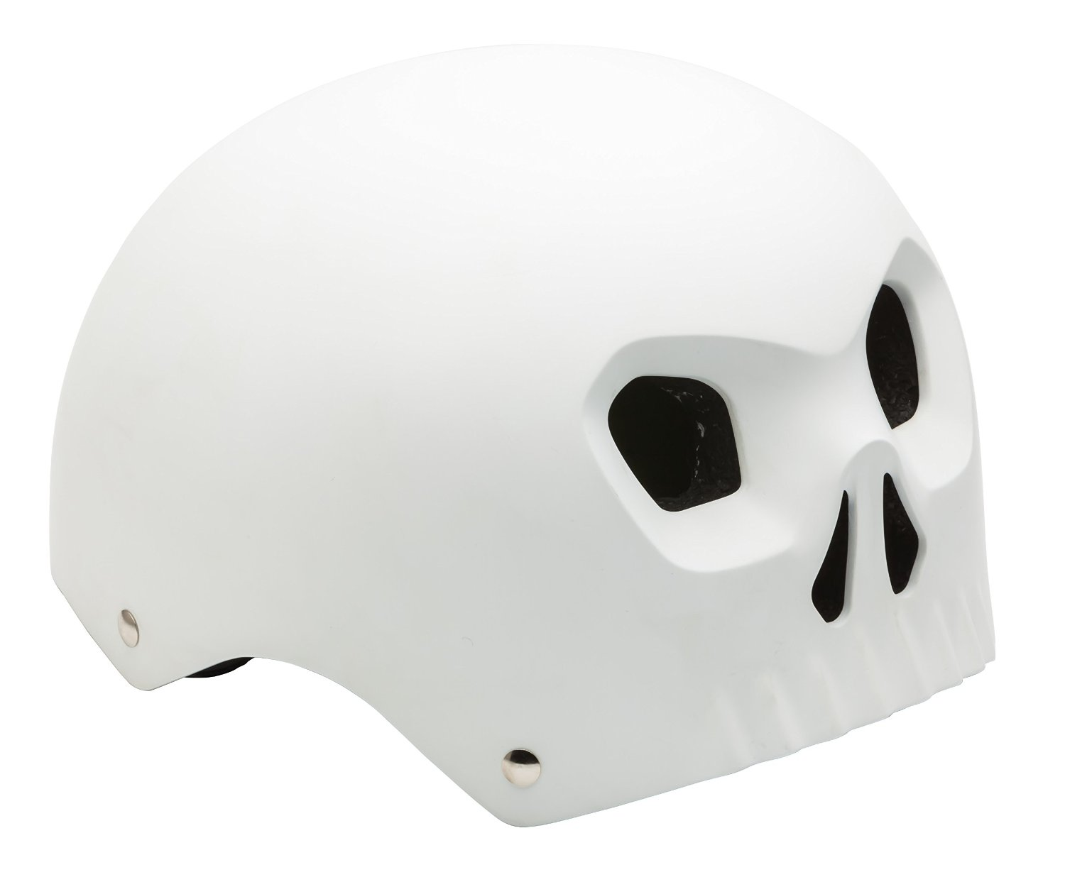 White Kids & Youth Mongoose Bicycle Helmets