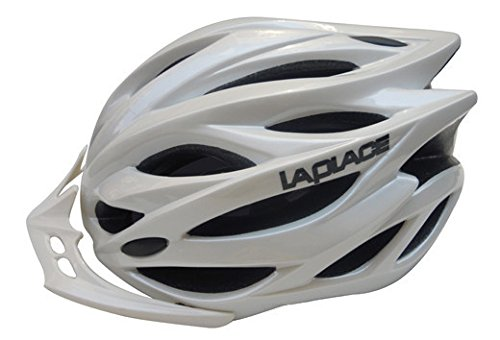 White Laplace Bicycle Helmets