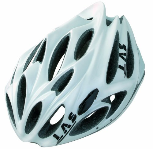 White LAS Bicycle Helmets