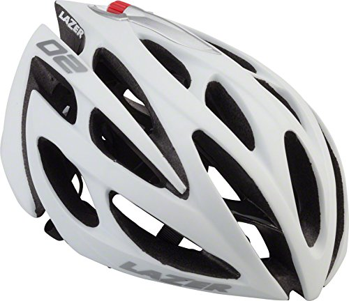 White Lazer Bicycle Helmets