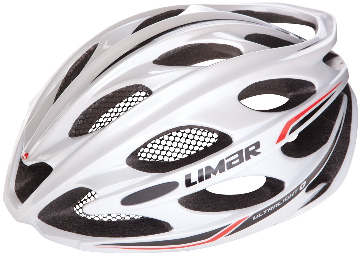 White Limar Bicycle Helmets