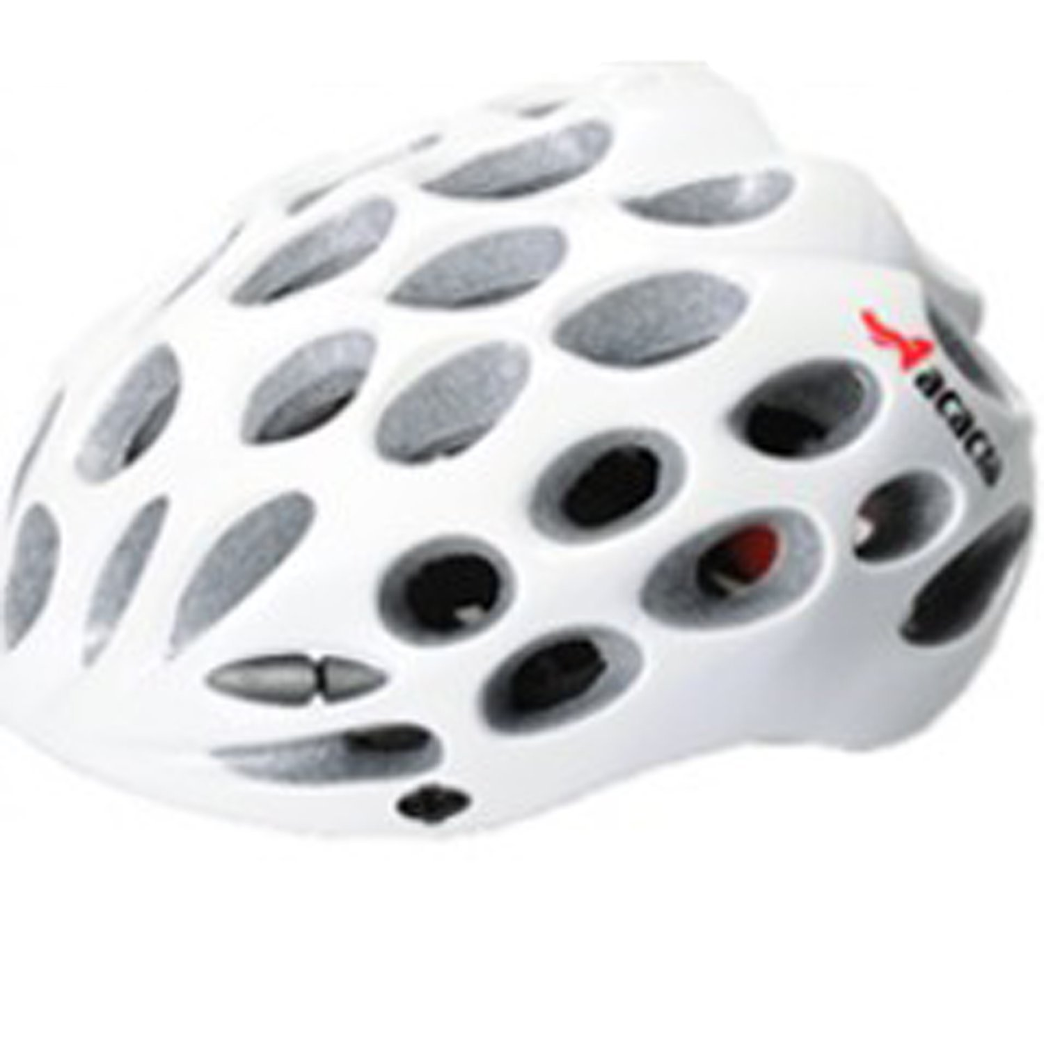 White Maysu Bicycle Helmets
