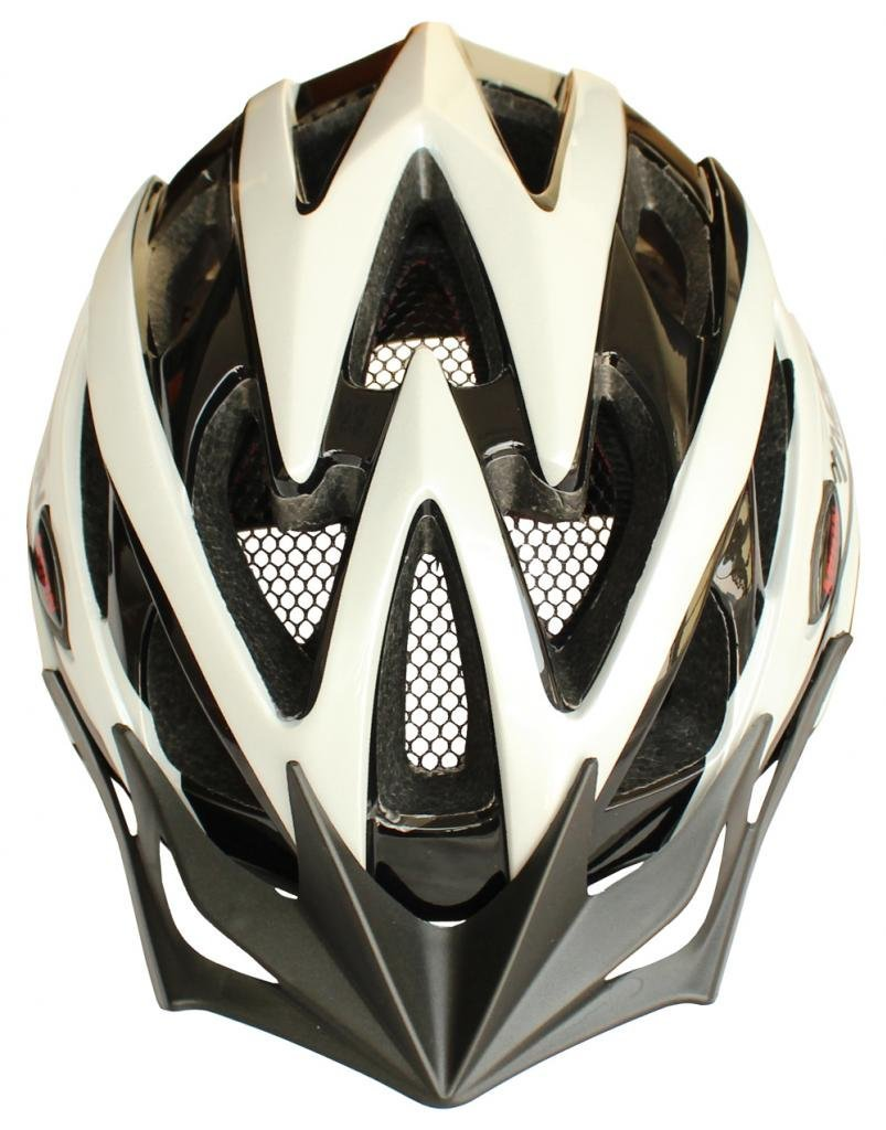 White Moon Bicycle Helmets