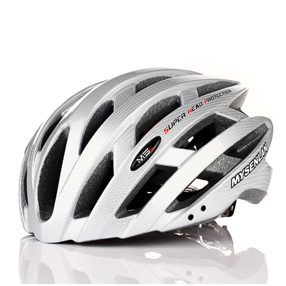 White Mysenlan Bicycle Helmets