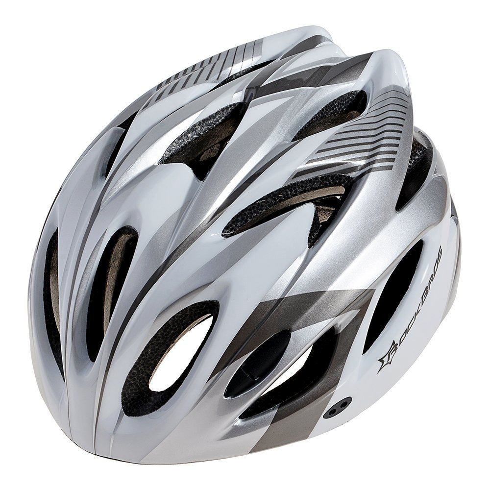 White RockBros Bicycle Helmets