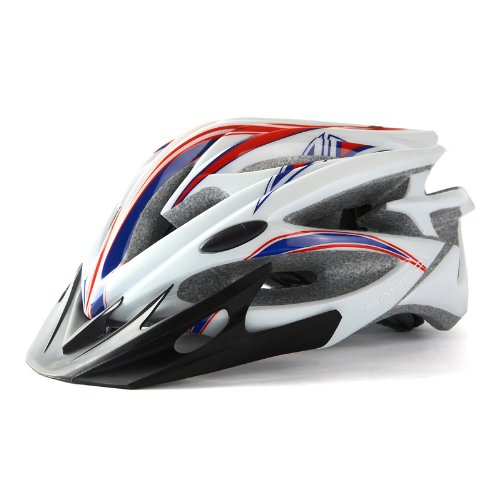 White Roswheel Bicycle Helmets