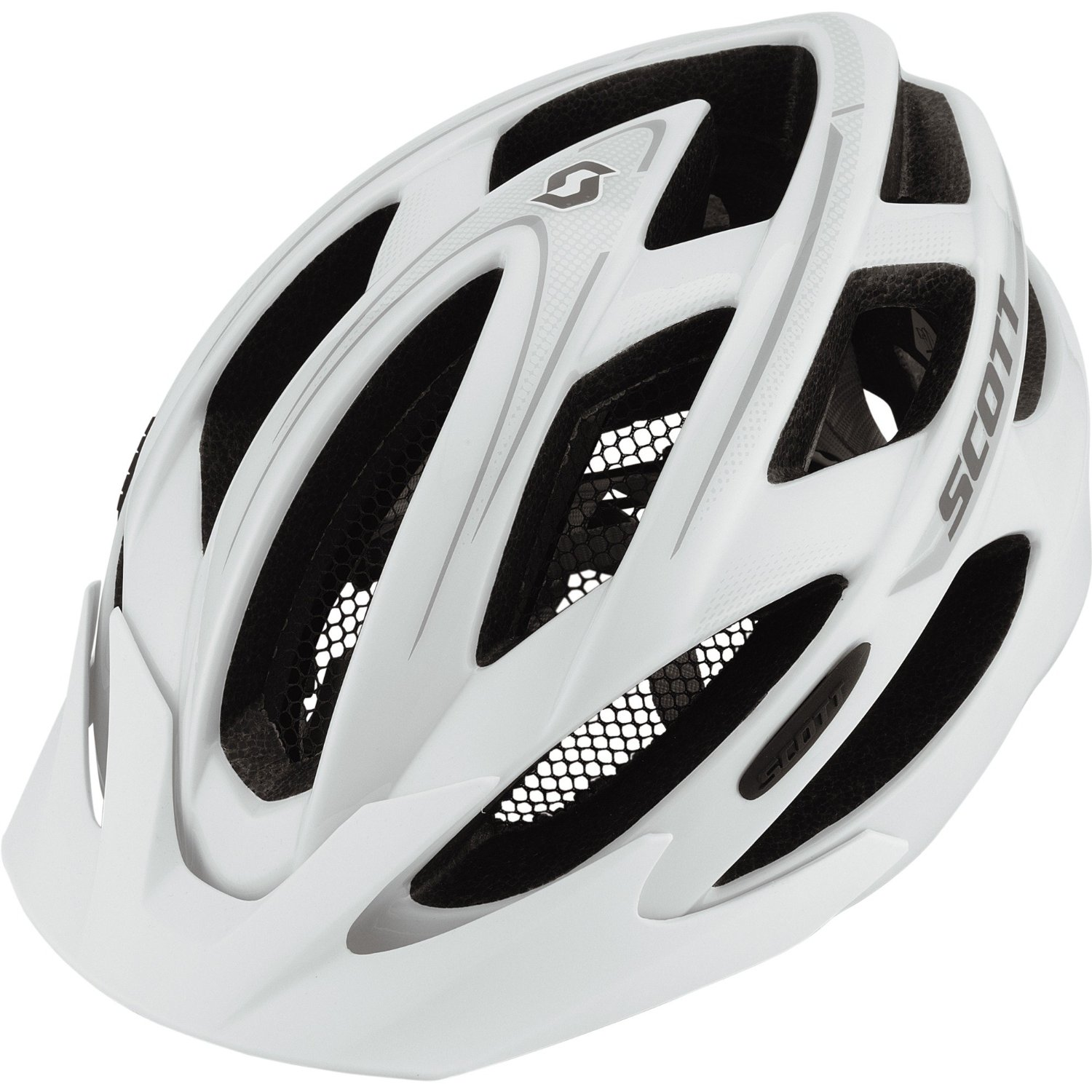 White SCOTT Bicycle Helmets