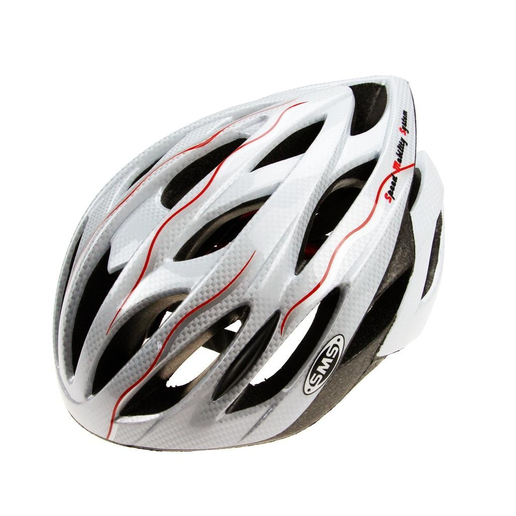 White Sms Bicycle Helmets