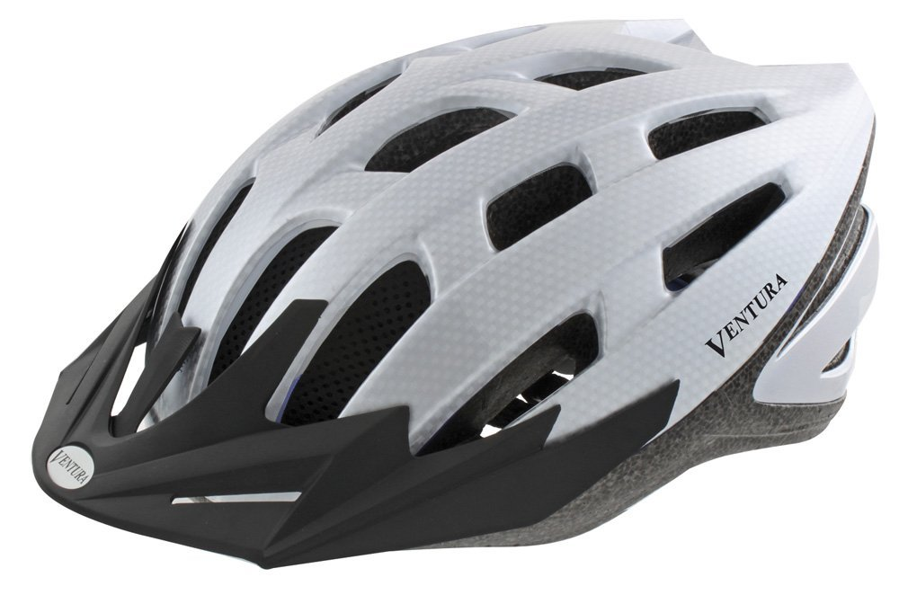 White Ventura Bicycle Helmets