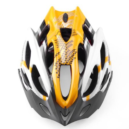Yellow 99 Parts Bicycle Helmets