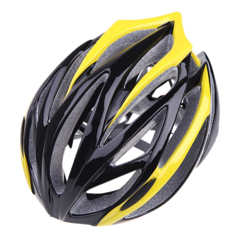 Yellow B&F Bicycle Helmets