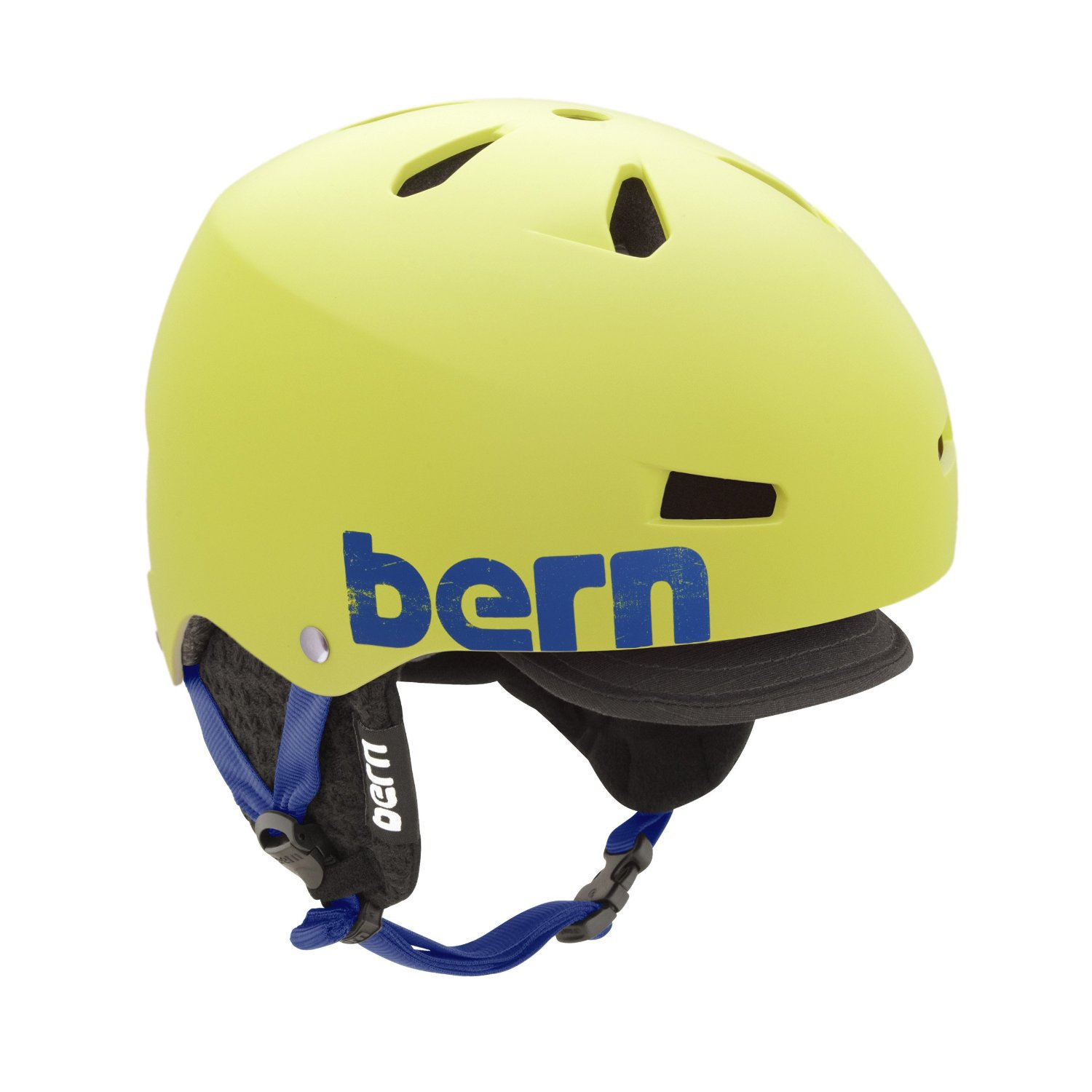 Yellow Bern Bicycle Helmets