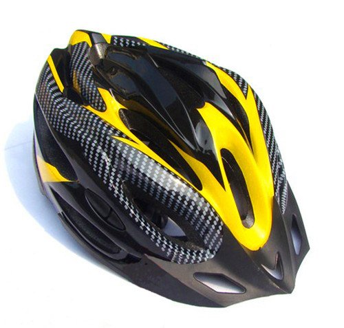 Yellow Bodyguard Bicycle Helmets