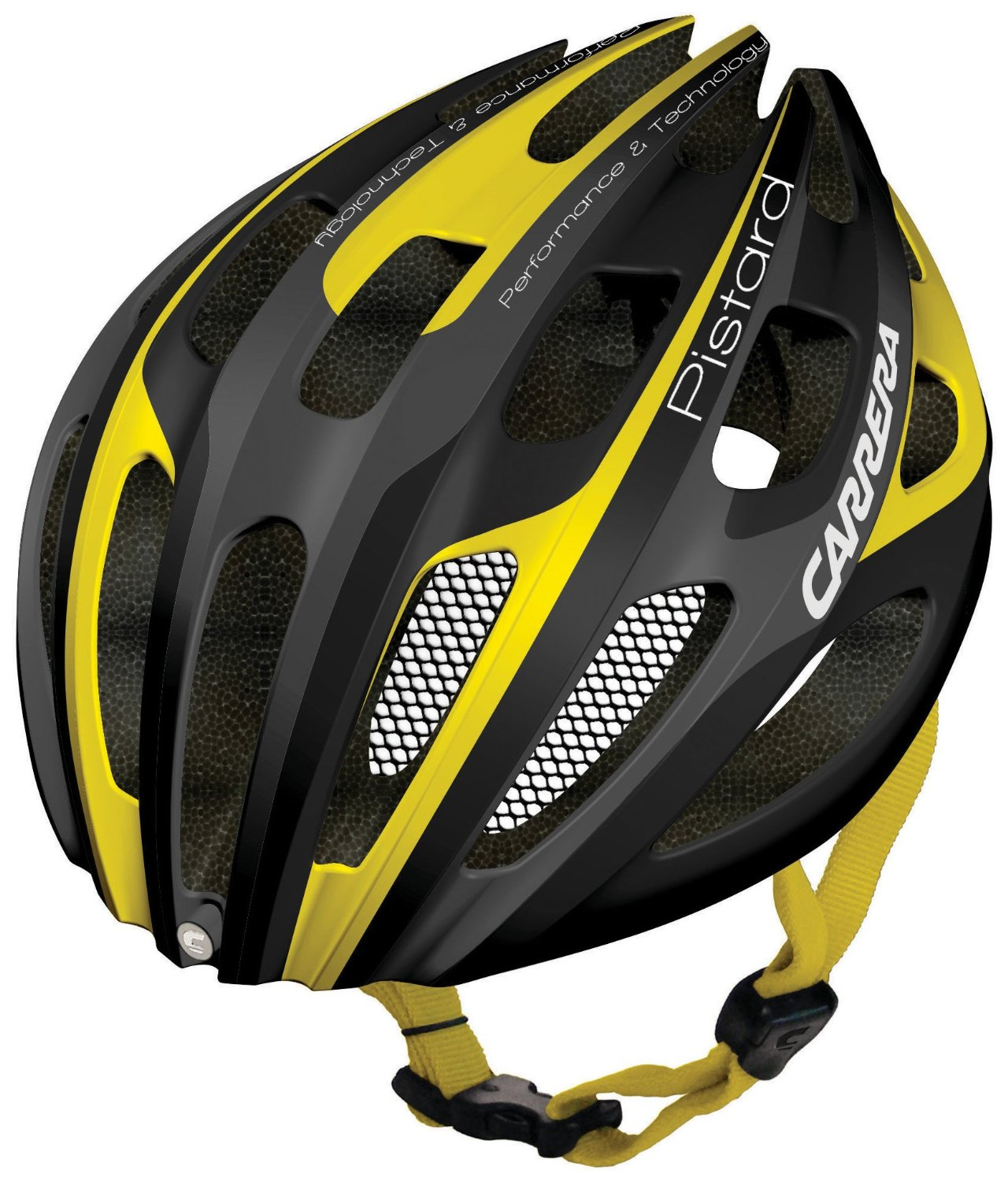 Yellow Carrera Bicycle Helmets