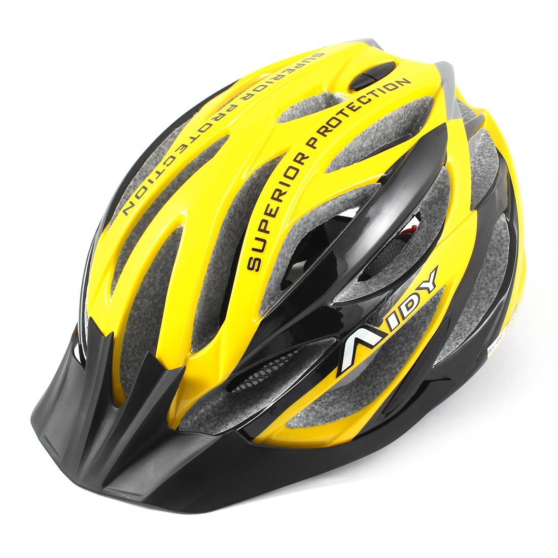 Yellow Como Bicycle Helmets