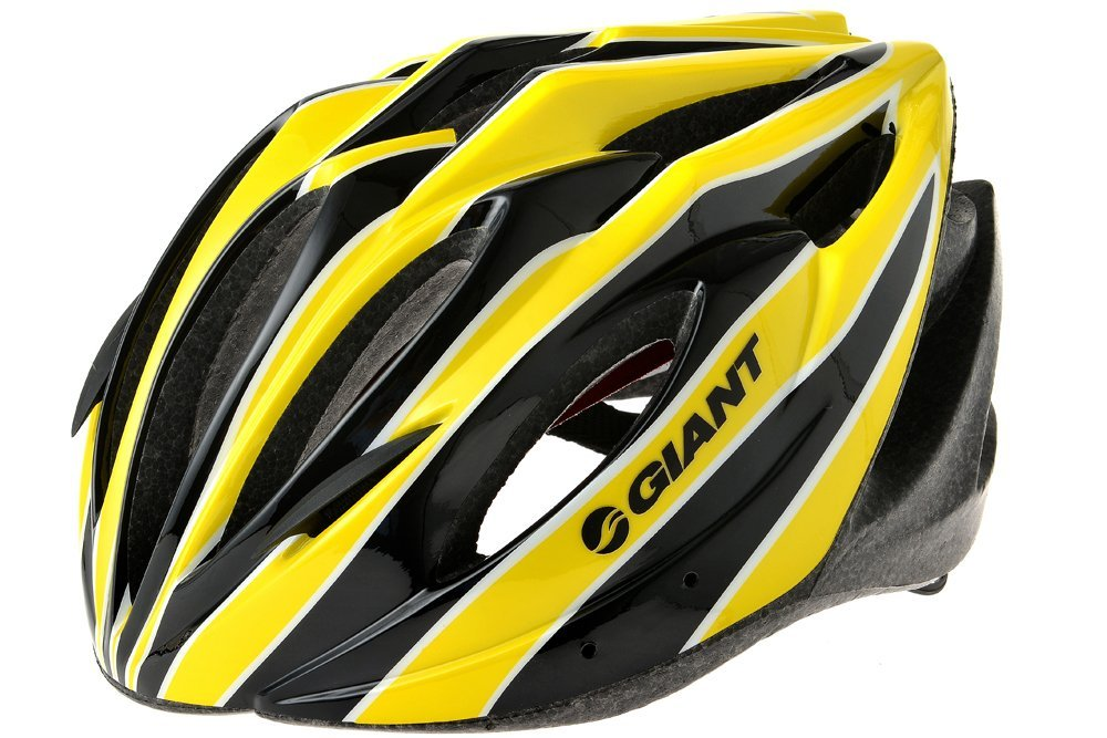 Yellow Giant Bicycle Helmets