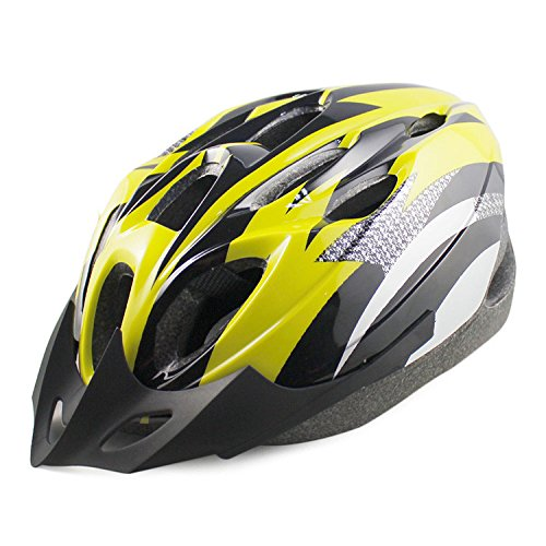 Yellow GreenRoad Bicycle Helmets