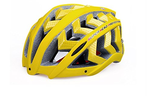 Yellow INBIKE Bicycle Helmets