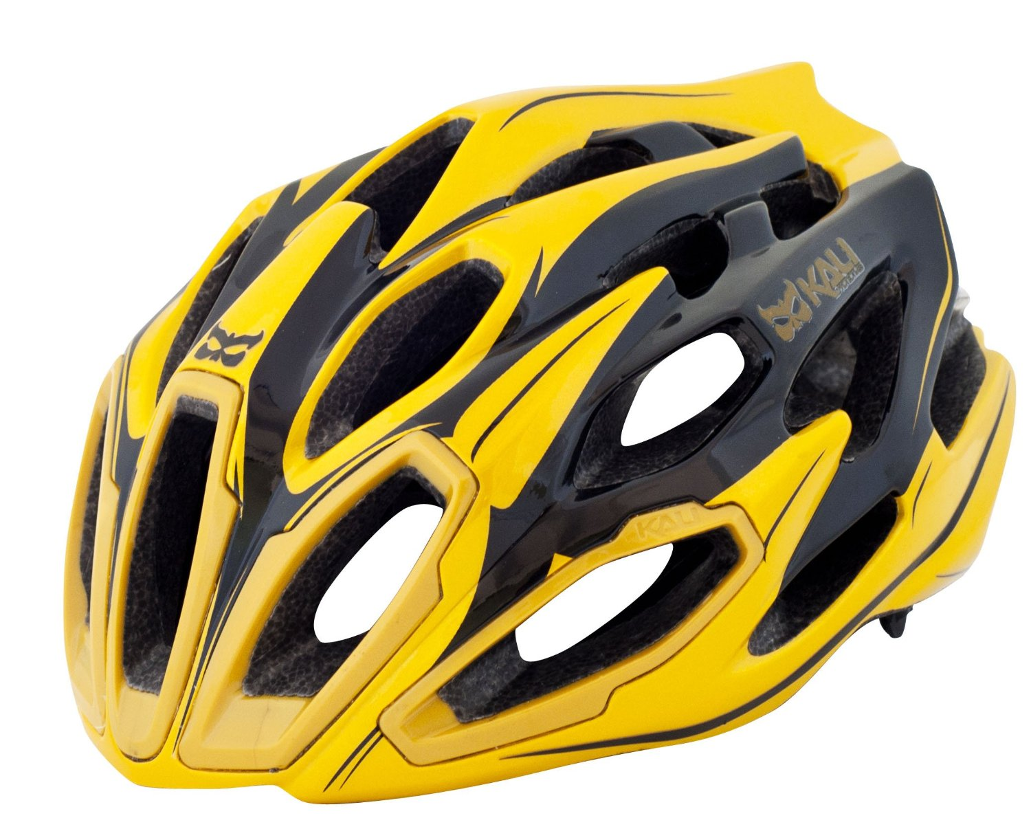 Yellow Kali Protectives Bicycle Helmets