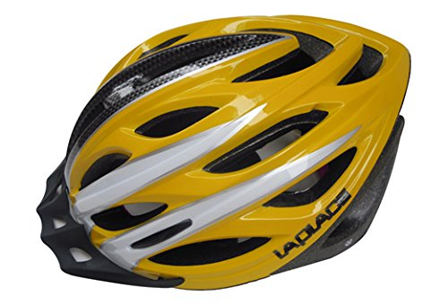 Yellow Laplace Bicycle Helmets