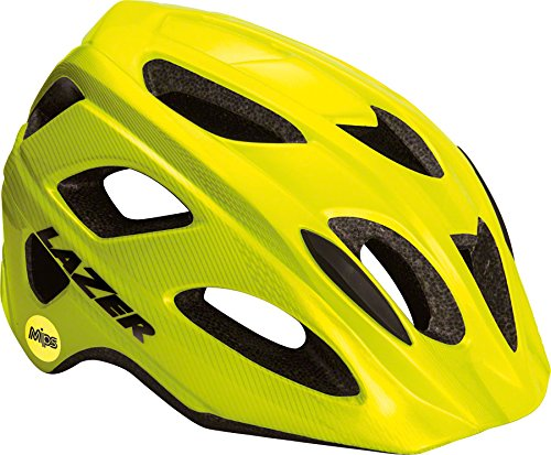 Yellow Lazer Bicycle Helmets