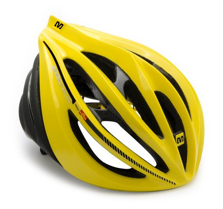 Yellow Mavic Bicycle Helmets