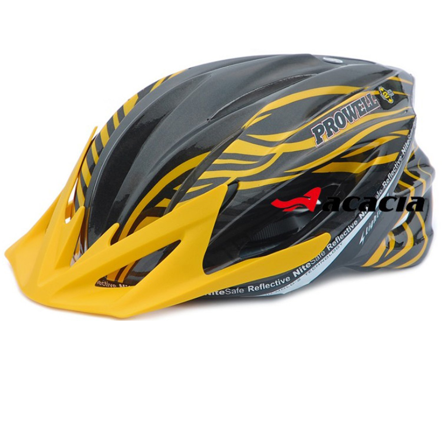 Yellow Maysu Bicycle Helmets