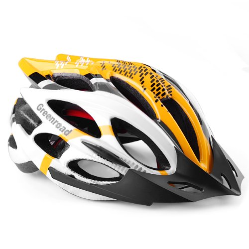 Yellow Phgiveu Bicycle Helmets