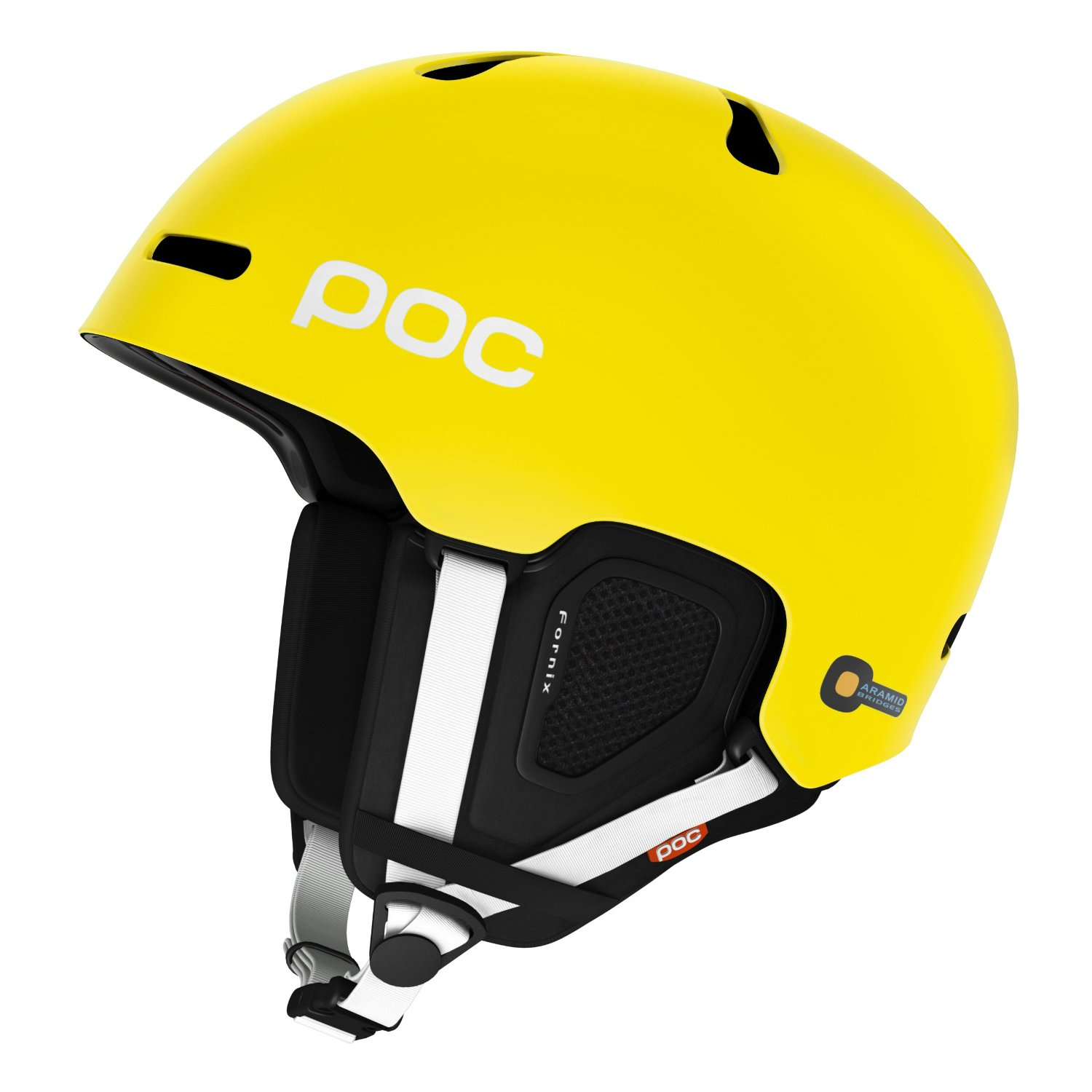 Yellow POC Bicycle Helmets