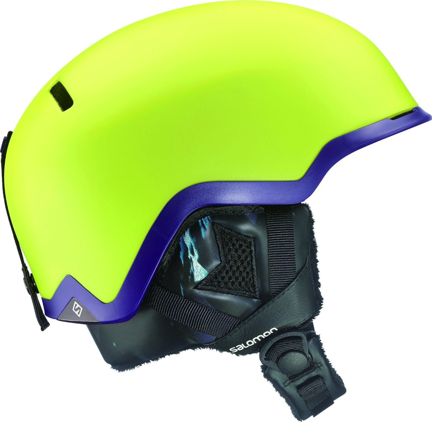 Yellow Salomon Bicycle Helmets