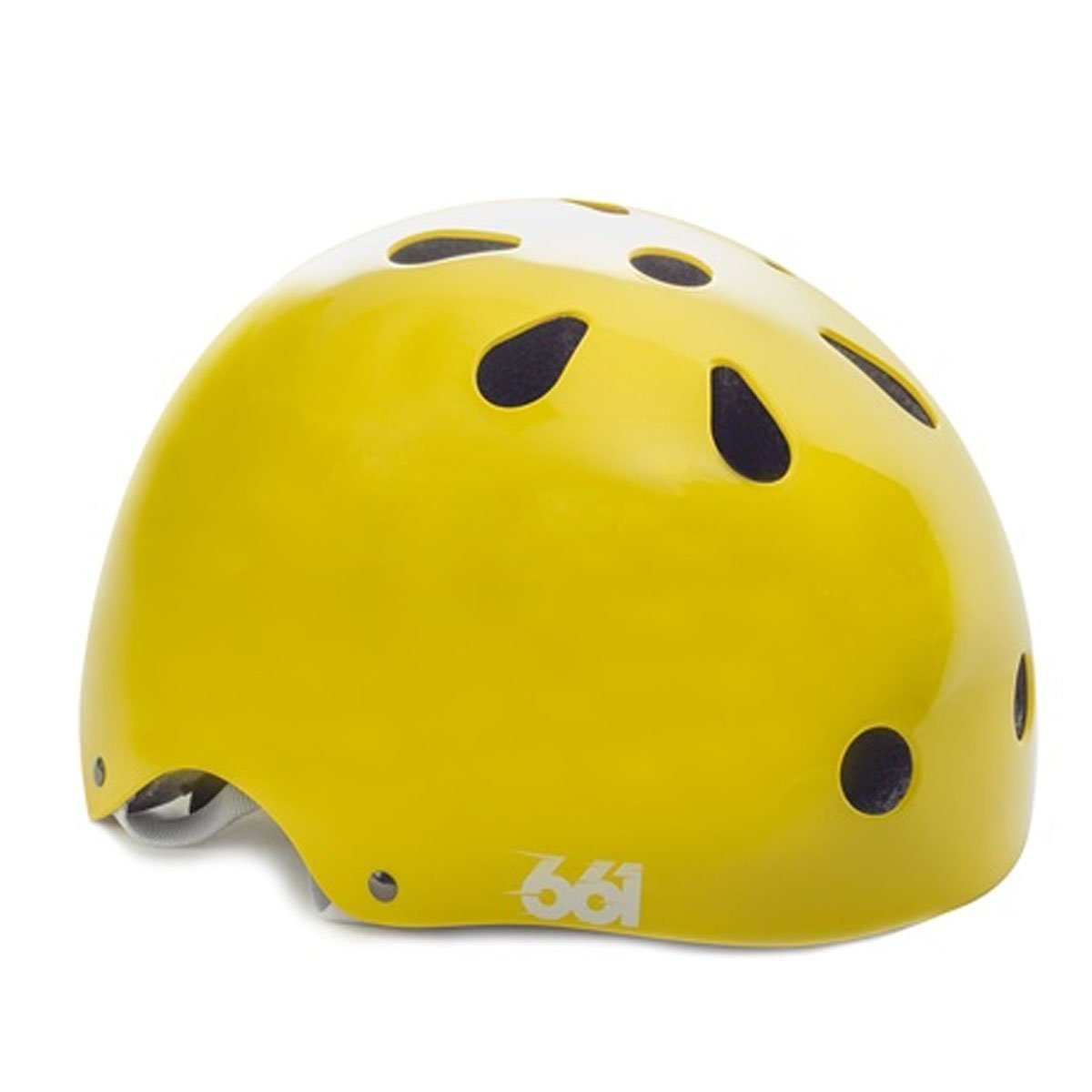 Yellow SixSixOne Bicycle Helmets