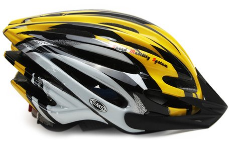 Yellow Sms Bicycle Helmets