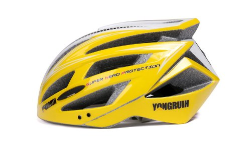 Yellow Tourequi Bicycle Helmets