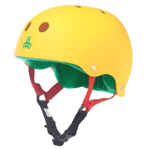 Yellow Triple Eight Bicycle Helmets