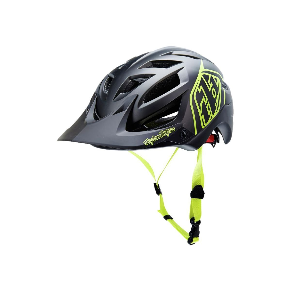 Yellow Troy Lee Designs Bicycle Helmets